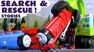 thomas and friends peppa pig play doh accident search rescue toys stories with paw patrol