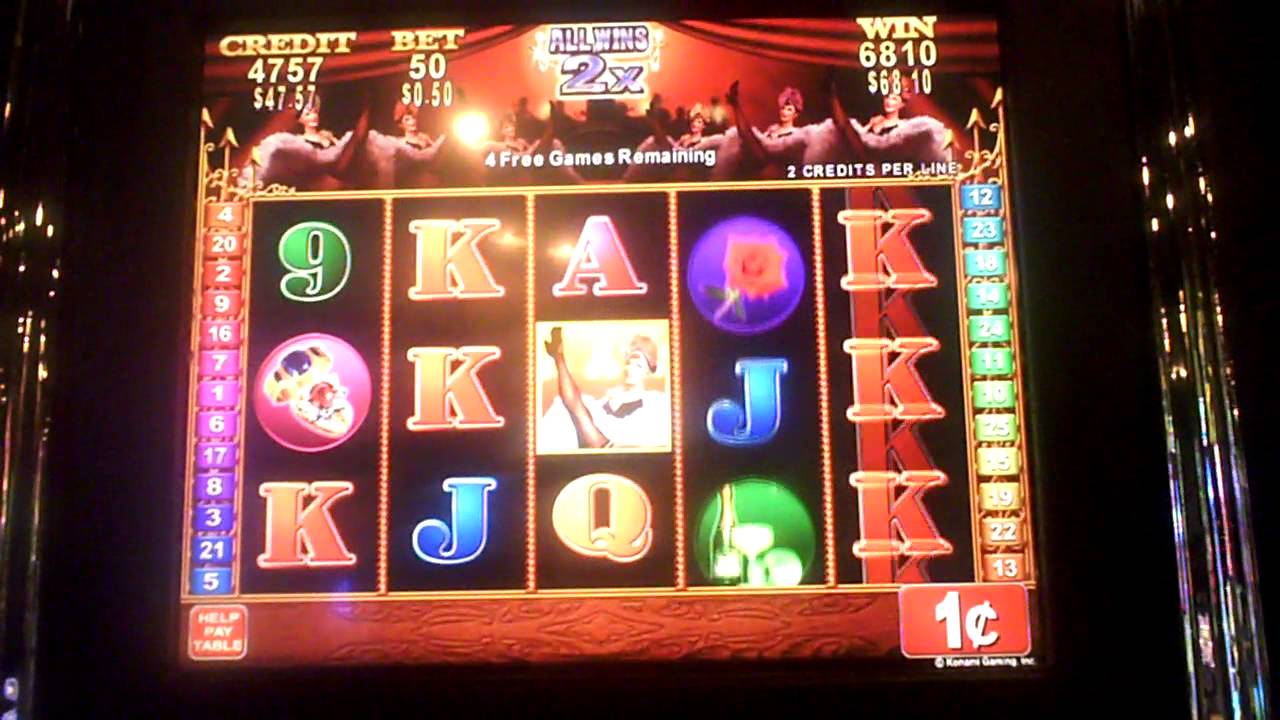 Club Moulin Slot Machine