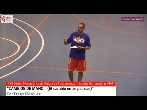 """Clinic: """"CAMBIOS DE MANO II (El cambio entre piernas)"""". Por Diego Blázquez. Escuela Entrenadores FBM"""