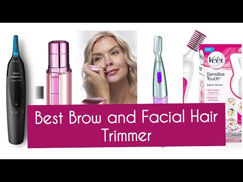 Best Eye Brow Trimmer and Facial Hair Removal at home 2020