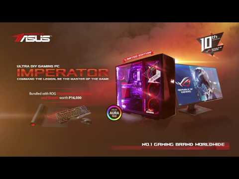 [4K] ASUS ROG Imperator Ultra Gaming PC Full Trailer