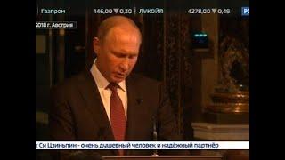 Смотреть видео Вести. Экономика. Путин: российская экономика обретает новое качество - Вести 24 онлайн