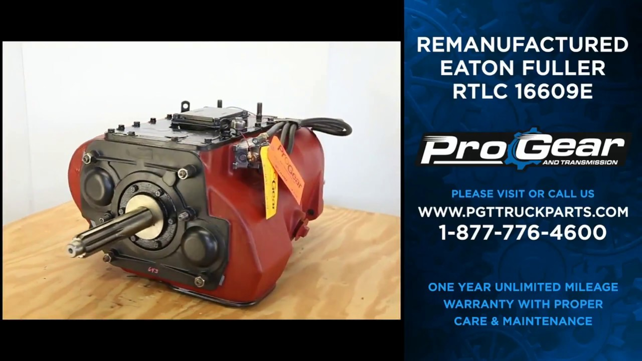 Fuller RTLC16609E 13 speed transmission - 9 speed conversion available