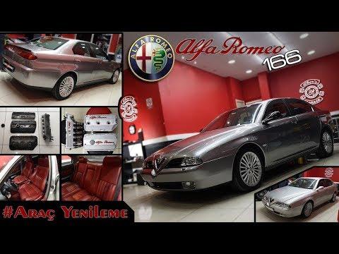 Alfa Romeo 166 | Busso V6 Turbo // Araç Kaplama \ Araç Yenileme