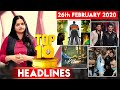 Top 10 Big News Of the Day | 26th February 2021: What's Hot in Bollywood