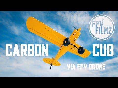Snowy Carbon Cub STOL - Cinematic FPV