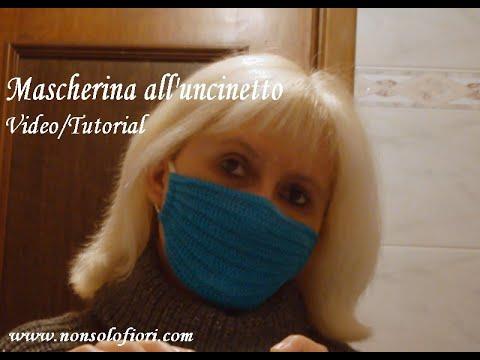 maschera antivirus uncinetto