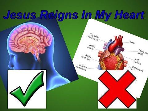 Jesus reigns in my heart