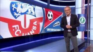 Hansa Rostock gegen SpVgg Unterhaching - 5. Spieltag 13/14 - Sportschau