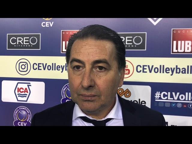 Fefè De Giorgi commenta la qualificazione alla Semifinale europea