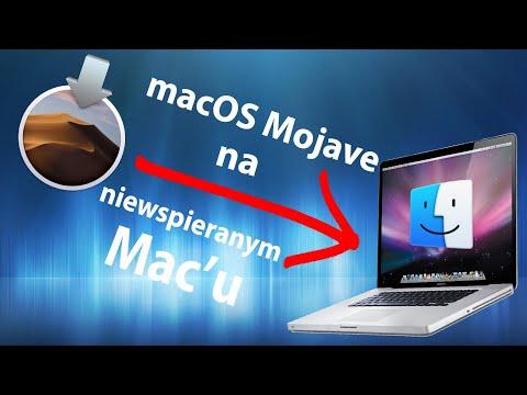 MacBook Pro 2011 -  Instalacja MacOS Mojave