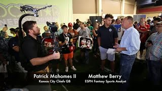 2018 National Fantasy Football Convention gets fans close to NFL stars