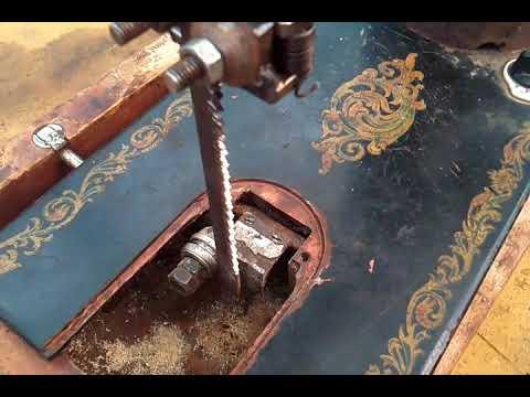 Лобзик из швейной машины своими руками видео