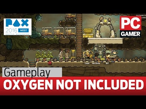Oxygen Not Included gameplay — first look
