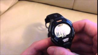 How to turn on / off alarm Timex Ironman Triathlon sports watch W-2009