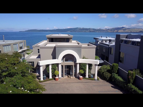 Boulevard Waters Motel Lake Taupo, New Zealand, Drone footage