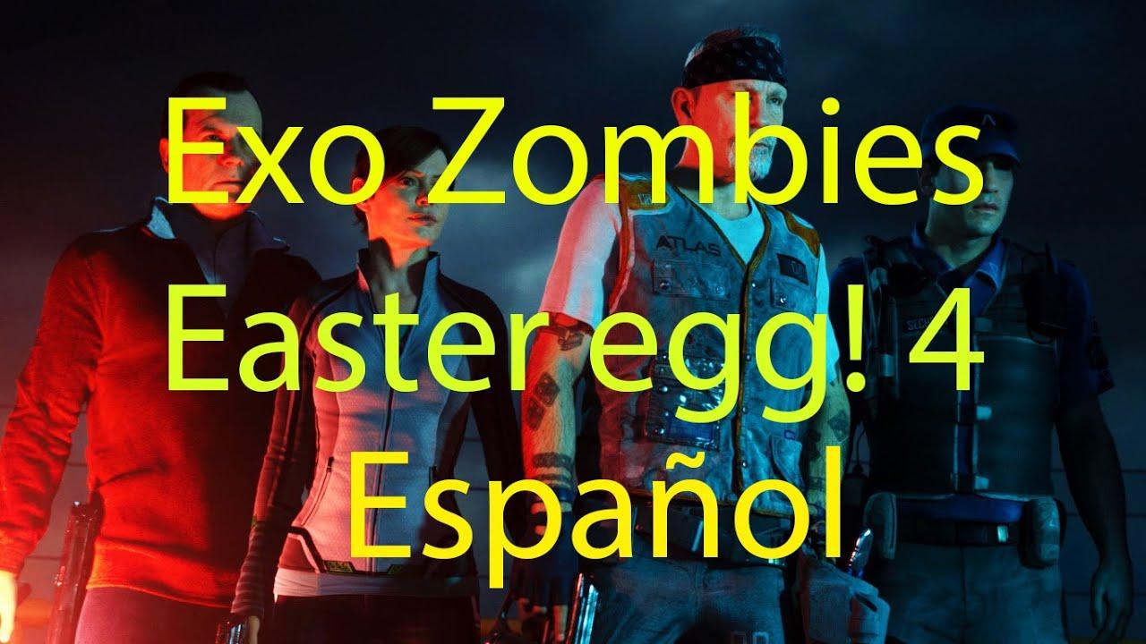 Advanced Warfare   Exo Zombies Easter egg Paso Cuatro en Español ...