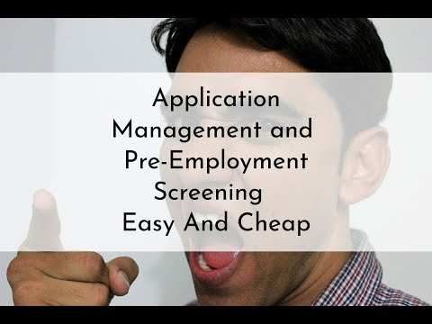 Applicant Management Center - Loss Prevention Systems
