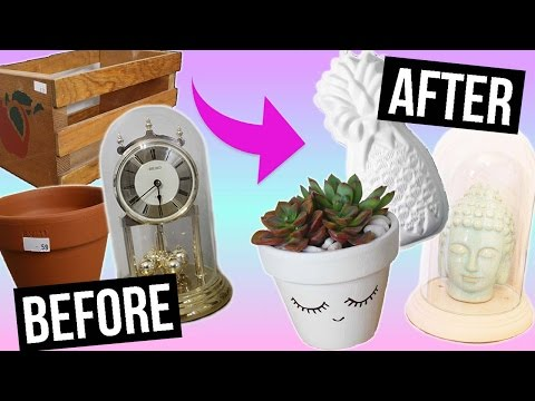 DIY ROOM DECOR: Thrift Store Flip!