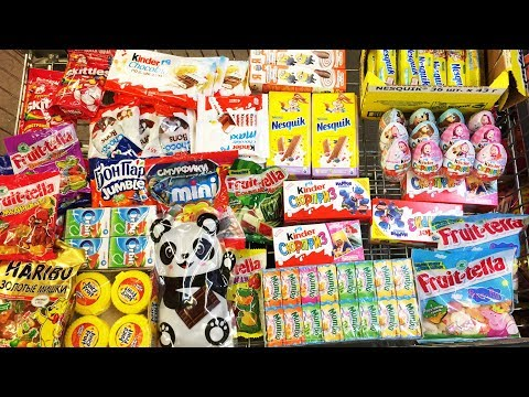 A Lot Of Candy 2018 NEW #56 Киндер...