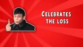 RJ Naved Prank Call 13 - Celebrates the loss