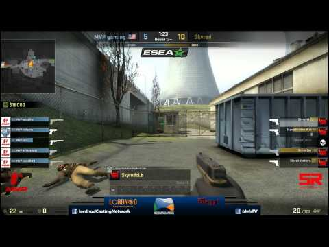 ESEA Asia Pacific Open Grand Final - Skyred vs MVP Gaming - Map 2 Part 2