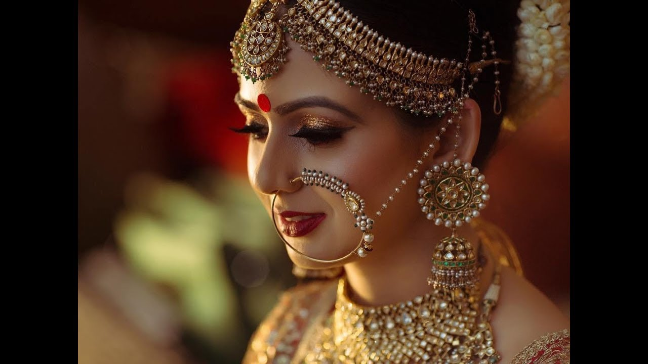 Latest Trendy Wedding Nose Ring For Indian Big Fat Wedding Youtube