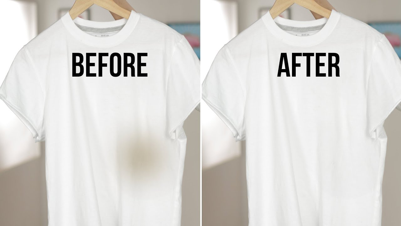 How to remove oil stains from clothing daily life hacks for How to clean white dress shirts