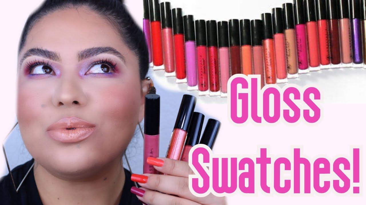 High Pigment Lip Gloss | Pigmented lips, Lip swatches, Lip