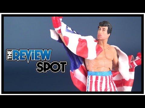 Toy Spot | NECA Rocky 40th Anniversary Rocky 4 Rocky Balboa Figure