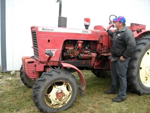 1979 Belarus Tractor Coldstart Youtube