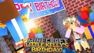 LITTLE KELLY'S SURPRISE BIRTHDAY!! - Minecraft - Little Donny Adventures.