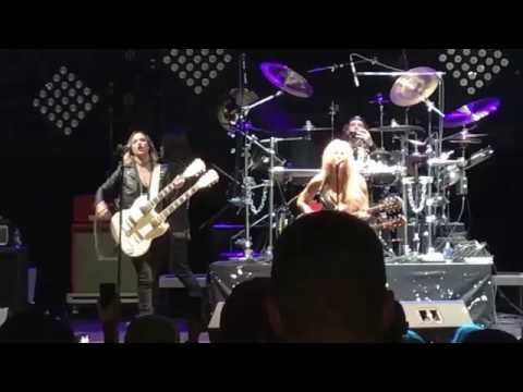 Lita Ford and Lizzy Hale performing Close My Eyes at The Stanley Theater in Utica N.Y. on 10/29/16
