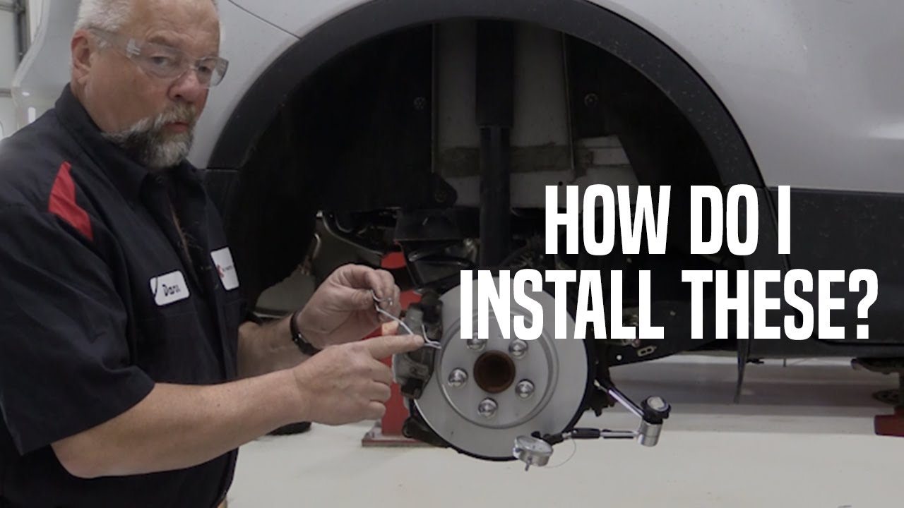 How To Install Brake Pad Retainer Clips Youtube