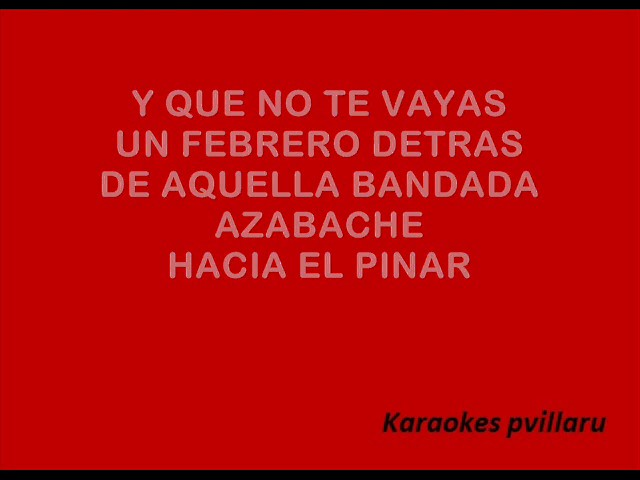Silvina Garre Cancion Del Pinar Karaoke Chords Chordify
