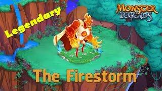 Monster Legends - How To Get The Firestorm (Legendary) + Combat