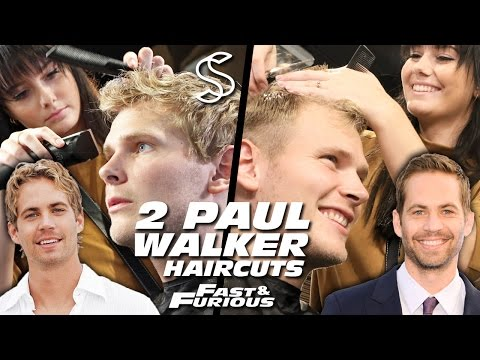 Paul Walker Hairstyle x 2 ★ Fast and Furious ★ Men