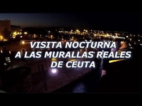 Visita Nocturna a las Murallas Reales de Ceuta - www.conoceceuta.com
