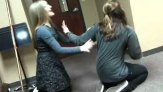 Wicked Cat Fight- practice run