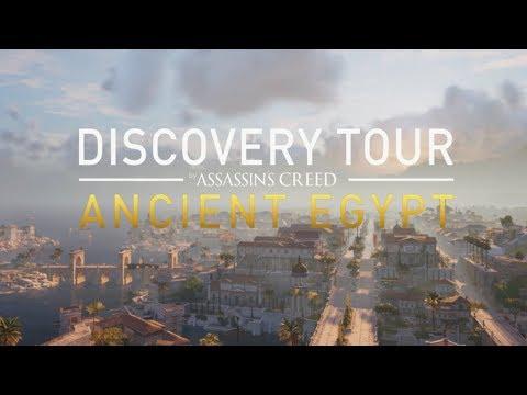 Assassin's Creed Origins Discovery Tour Mode - Alexandria Xbox One X Gameplay