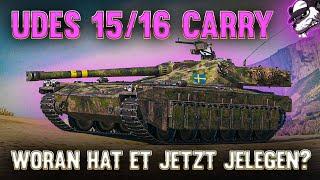 UDES 15/16 Carry! Woŗan hat et jetzt jelegen? [World of Tanks - Analyse - Gameplay - Deutsch]