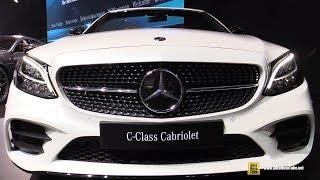 2019 Mercedes C-Class Cabriolet - Exterior and Interior Walkaround - 2018 New York Auto Show