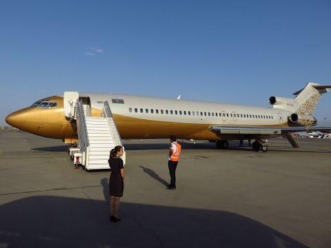 Silk Way Business Aviation 727-251(WL)/Adv - Departure Rwy 05 Geneva Cointrin (GVA), Switzerland