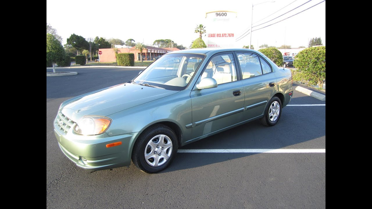 Sold 2004 Hyundai Accent Gl 66k Miles Meticulous Motors