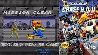 Chase H.Q. 2 (Sega Mega Drive) - прохождение игры