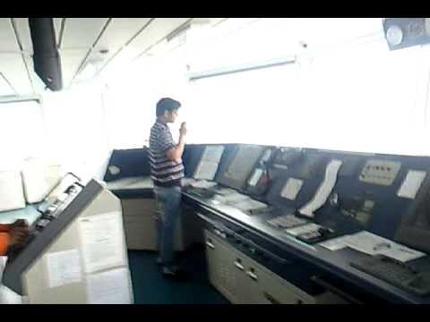 видео: Навигационный мостик  ПРибытие в Краби