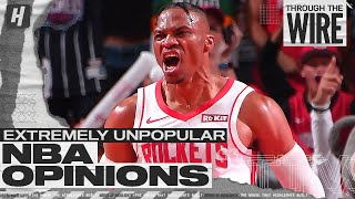 Extremely Unpopular NBA Opinions | Through The Wire Podcast