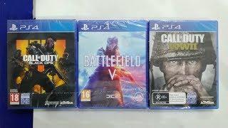 Call of Duty Black Ops 4 vs Battlefield 5 vs Call of Duty World War 2 | Comparison