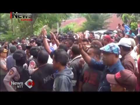 INews NTT - Diduga Pilkada Curang, Ribuan Masa Datangi KPUD Dan Panwaslu Alor