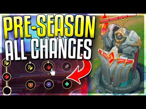 NEW PRE-SEASON 9 IS HERE!! All Changes REVEALED - League of